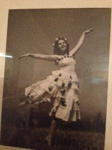 C.B. Doyle's mutti (mother), a ballerina in Germany at the end of WWII